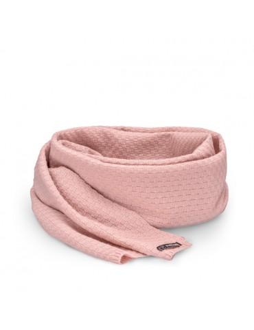 PaMaMi Damen Winterschal Schal mit Wolle rose rosa 16631