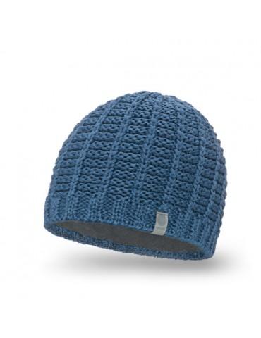 PaMaMi Herren Men Man Mütze Beanie jeansblau blau 18026