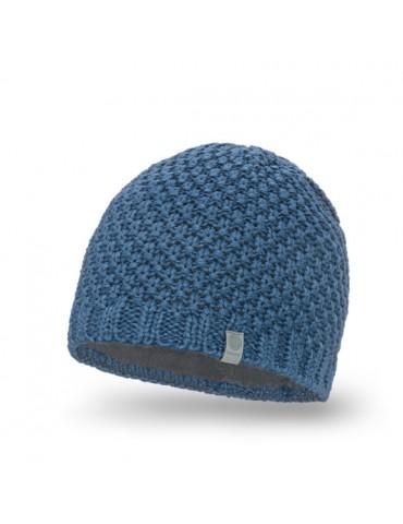 PaMaMi Herren Men Man Mütze Beanie jeansblau blau 18028