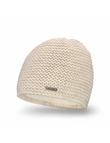 PaMaMi Damen Strick Mütze Beanie beige sand 18500