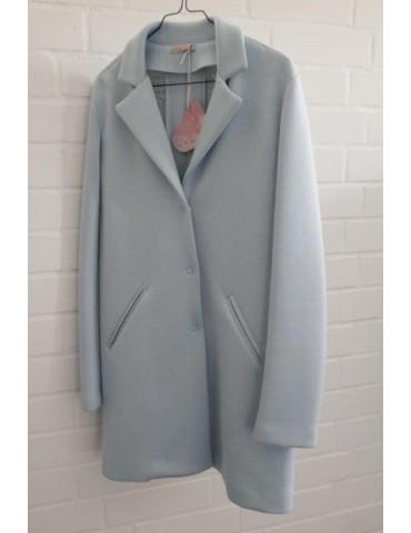 ESViViD Bequemer Sportlicher Mantel hellblau Gr. M ca. 38 -42