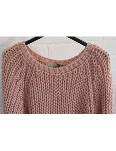 Cooler Strick Pullover rose...