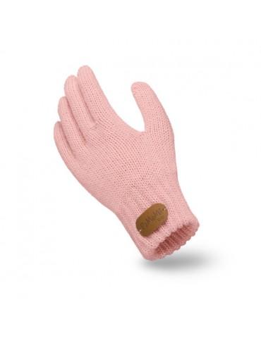 PaMaMi Kinder Fingerhandschuhe Handschuhe rose...