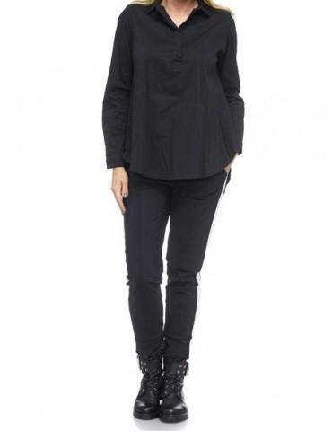 ESViViD Damen Bluse schwarz...
