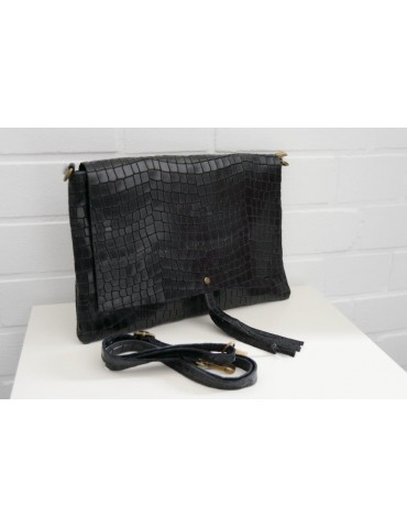 Damen Echt Leder Handtasche...