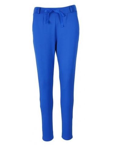 Esvivid Coole Sportliche Jersey Hose Chino royal blau uni 9051