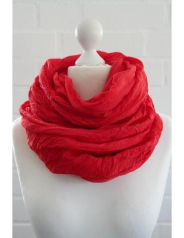 XXL Schal Tuch rot red 100%...