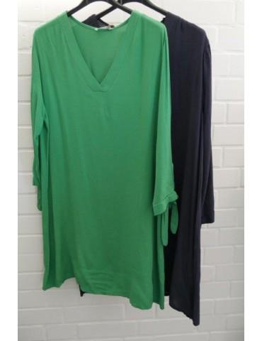Damen Tunika Kleid grasgrün...