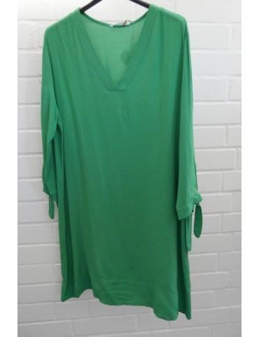 Damen Tunika Kleid grasgrün grün Viskose Onesize ca. 38 - 42 Made in Italy
