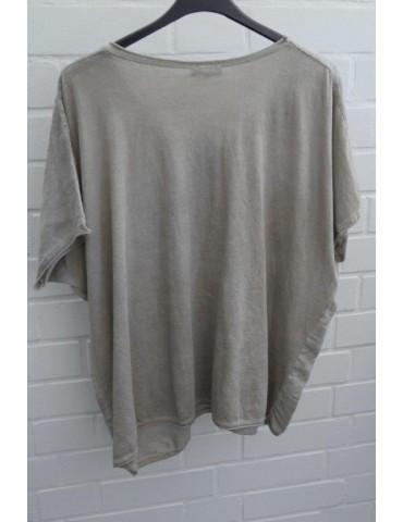 Damen Bluse Shirt kurzarm...