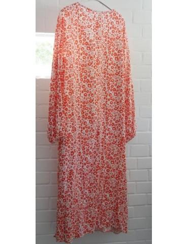 Damen Kleid Viskose...