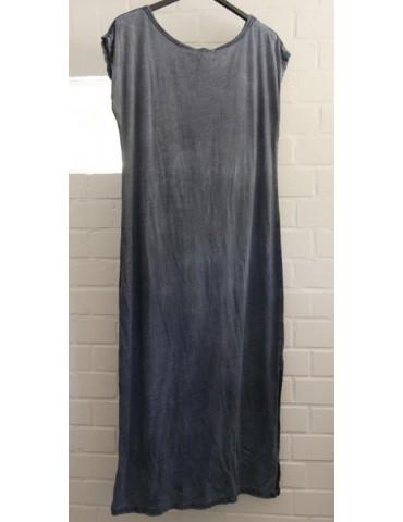 T-Shirt Kleid jeansblau...