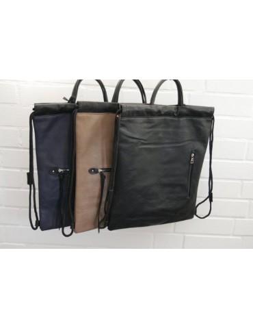 Damen Rucksack Tasche beige...