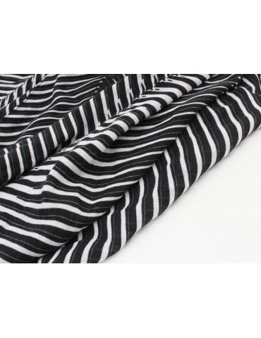 Damen Schal schwarz weiß...