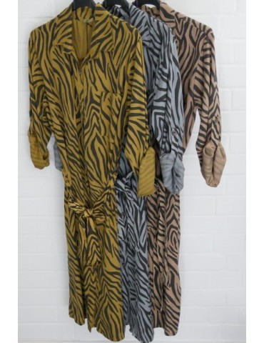 Damen Tunika Kleid gerader...