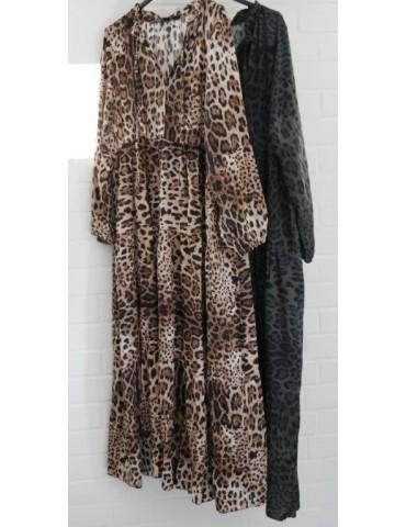 Damen Maxi Kleid A-Form...