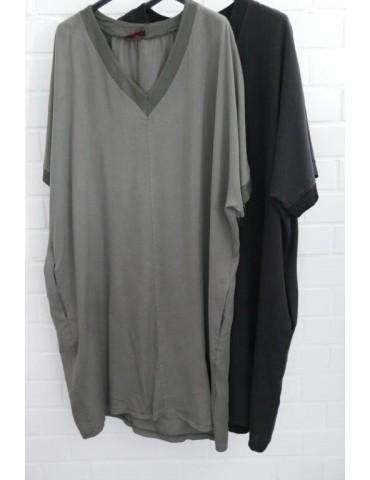 Damen Tunika Kleid khaki...