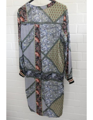 Damen Tunika Kleid oliv...