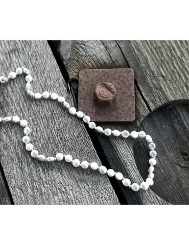 Damen Modeschmuck Kette Halskette silber Metall