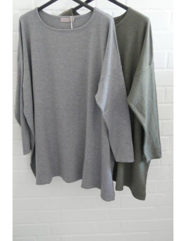 ESViViD Damen Pullover khaki oliv grün Onesize...