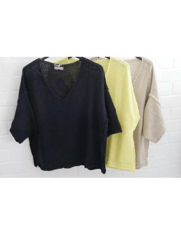 ESViViD Damen Pullover gelb...