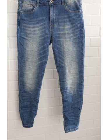 Coole trendige Jeans Hose Damenhose Boyfriend...