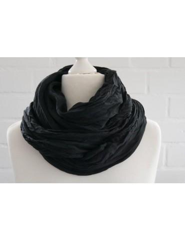 XXL Damen Schal Tuch schwarz black verwaschen...
