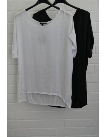 Damen Shirt kurzarm schwarz...