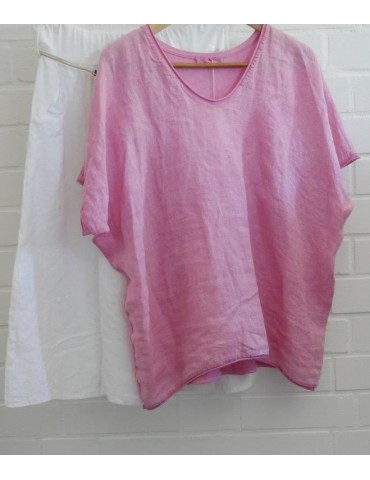 Damen Shirt kurzarm rose...