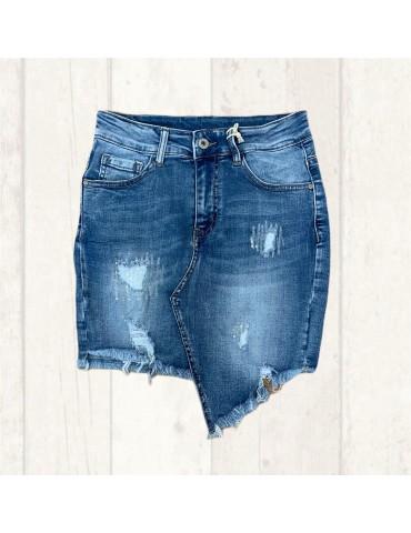 Melly & Co Damen Jeans Rock...