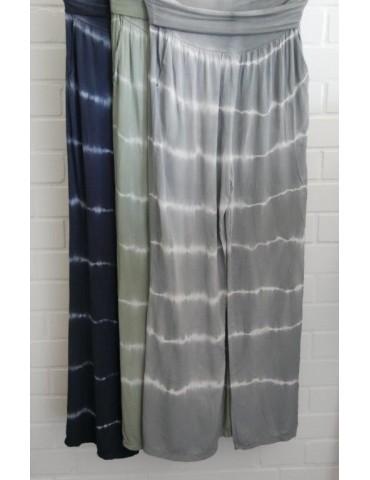 Batik Hose Damenhose...