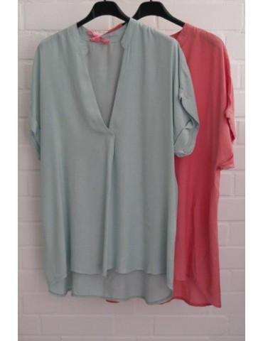 Damen Blusen Shirt kurzarm...