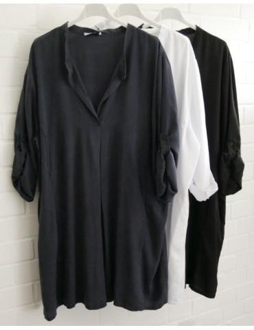 Xuna klassische Damen Tunika Bluse Shirt...