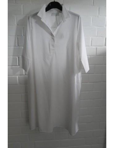 ESViViD Damen Tunika Bluse Kleid weiß white mit...