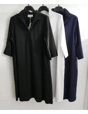 ESViViD Damen Tunika Bluse Kleid schwarz black...