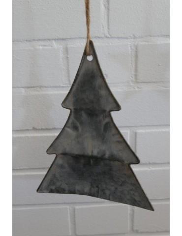 Deko Metall Weihnachtsbaum Zink Vintage Adventszeit