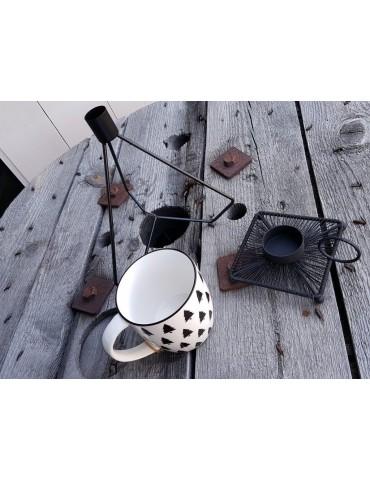 Kerzenständer Kerzenhalter Metall schwarz black...