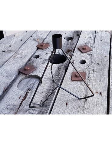 Kerzenständer Kerzenhalter Metall schwarz black trendig