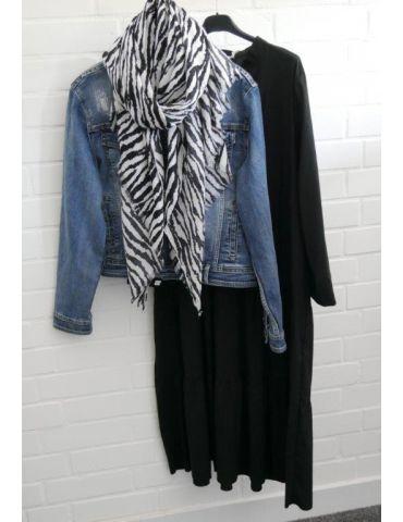 Melly & Co Jeansjacke Damen Jacke Jeans blau...