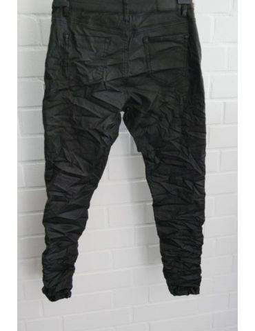 Trendige Coole Lederimitat Hose Damenhose...