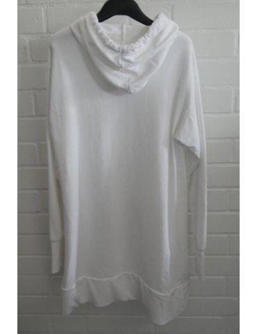 ESViViD Damen langarm Sweat Shirt Tunika Kleid...