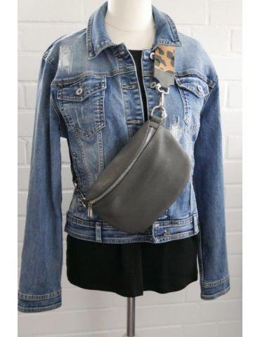 Taschen Gurt Handtasche Gürteltasche grau...