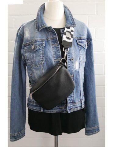 Taschen Gurt Handtasche Gürteltasche weiß grau...