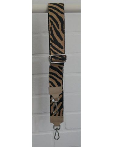 Taschen Gurt Handtasche Gürteltasche schwarz beige Zebra Animal Print