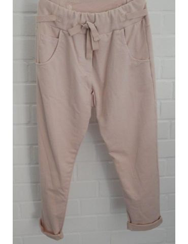 Wendy Trendy Jogginghose JoggPants Damenhose Hose rose rosa mit Verstellband