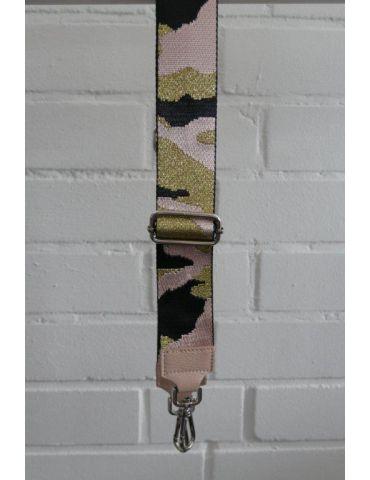 Taschen Gurt Handtasche Gürteltasche schwarz rose gold Camouflage