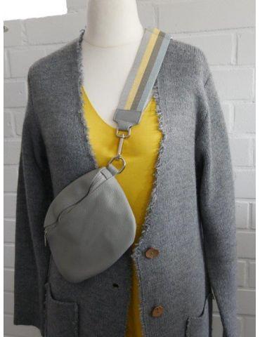 Taschen Gurt Handtasche Gürteltasche hellgrau...