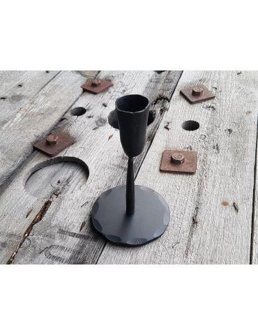 Kerzenständer Kerzenhalter schweres Metall schwarz black rund