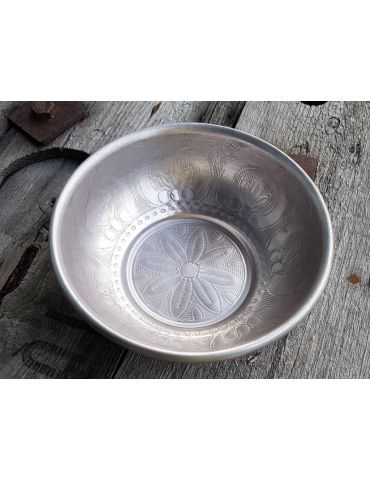 Metall Schale Teelicht Kerzenhalter silber...