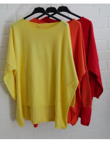 ESViViD Damen Pullover gelb zitronengelb...